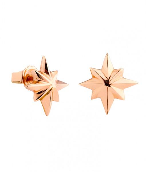 star_earring_rose_gold